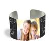 Cuff Bracelet (PG-185D) White Gloss