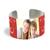 Cuff Bracelet (PG-185G) White Gloss