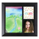 Framed Collage Print (6x6.5_V Mom Black)