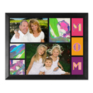 Framed Collage Print (11.5x9_H Mom Black)