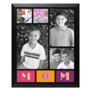 Framed Collage Print (11.5x9_V Mom Black)