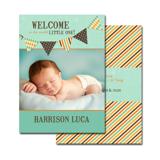 2-sided Birth Announcement (13-091-5x7)