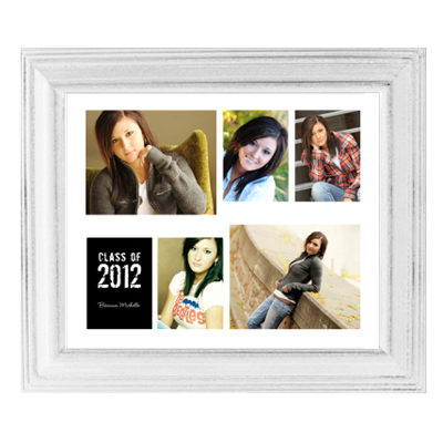 Framed Collage Print (20x24_H white) - Gift Specifications | Gene\'s ...