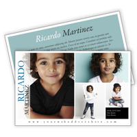 Comp Card 5½x8½  2-Sided - Style HD