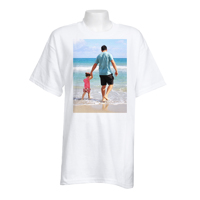 Adult X-Large White T-Shirt