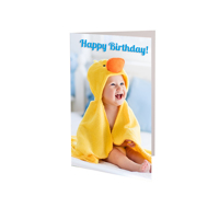 (48 PACK) 3.5x5 Folded Card - Vertical