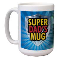 15 oz Father's Day Mug (F)