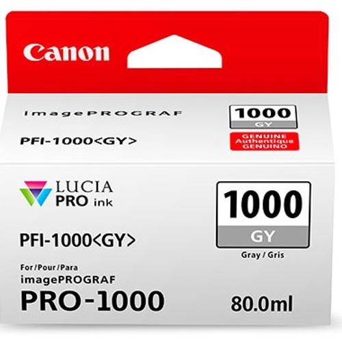 Canon-PFI-1000 Gray Ink Tank-Ink Cartridges