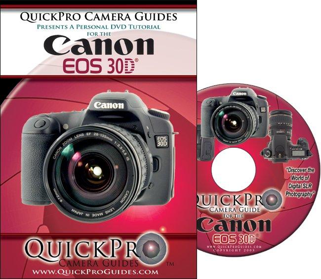 quickpro canon eos 30d interactive dvd tutorial instructional rh thecameracorner com canon eos 40d instruction manual canon eos 40d instruction manual