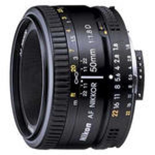 Nikon-AF 50mm NIKKOR F1.8D-Lenses - SLR & Compact System