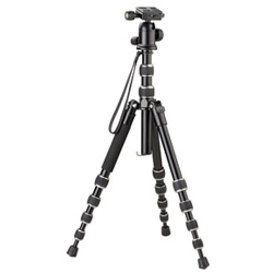Optex-T5I136 Premium 5-Section Tripod-Tripods & Monopods