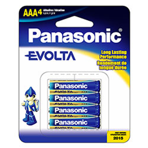 Panasonic-Evolta AAA (4 piles) - LR03EGA/4B-Piles