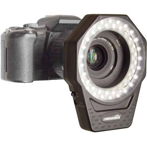 Lumahawk-LED Ring Light #LMX-LD48A-Studio Lights