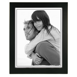 Malden-8x10 Black Linear-Photo Frames