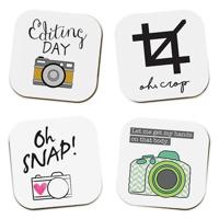 Photo Themed Coaster (set of 4)