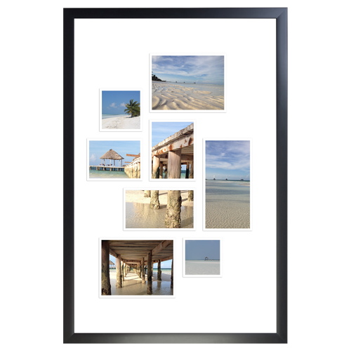 Framed Collage Print 12x18 - V