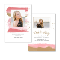5x7  2 Sided Graduation Card (17-004)