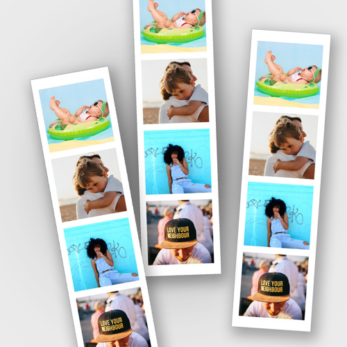 1 Photo Strip sold in packs of 8 - each strip is 2 x 8