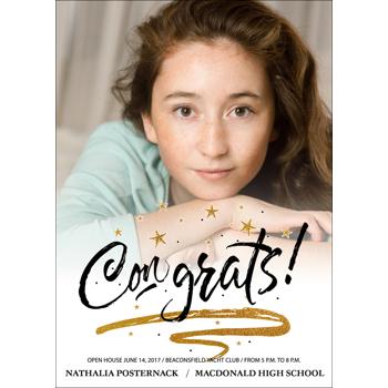Congrats Grad - 1 Sided
