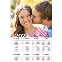 """200x300mm (8 x 12"""") Poster Calendar - 2021"""