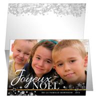 """Carte Joyeux Noël (7""""x5"""") - Horizontal"""
