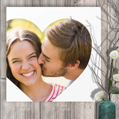 20 x 20 Heart Collage Acrylic Print - 1 photo