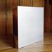8 x 12 Horizontal Acrylic Block Brushed Silver Backing