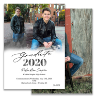 Graduation Announcement (20-005)