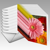 "5x7"" Folded Card Portrait - Single-sided (20 Pack)"