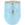 Verre à vin 12 oz bleu pâle LTM857