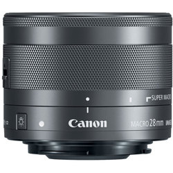 Canon-EF-M 28mm F3.5 Macro IS STM-Lenses - SLR & Compact System