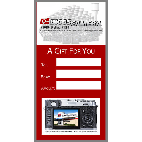 Biggs Camera $100 Gift Card - Gift Cards - Biggs Camera ...
