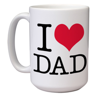 15 oz Father's Day Mug (D)