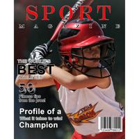 8x10 Sport Magazine Cover