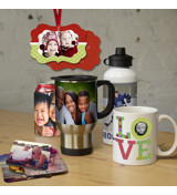 Drinkware, Coasters, Ornaments & More!
