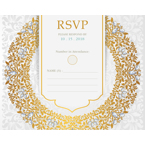 Luxury - 1 Sided RSVP