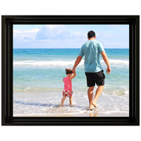 Framed Photo Canvas - 16x20 - H