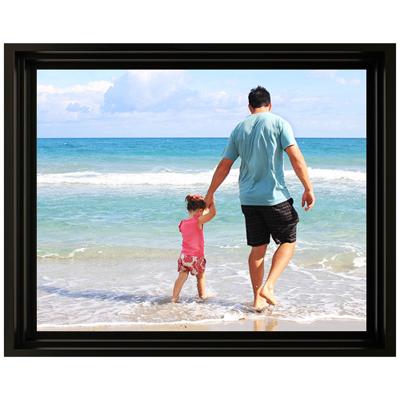 Framed Photo Canvas - 16x20 - H