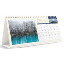 Calendrier de bureau - 12 mois (10x4.5)
