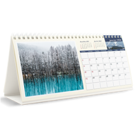 10x4.5 Desk Calendar - 12 months (FRENCH)