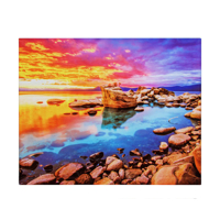 8x10 Glass Print Horizontal