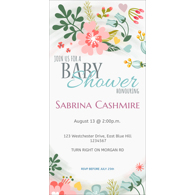 Baby Shower Card R