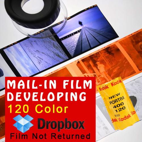 Film Developing - 120 Color - Dropbox
