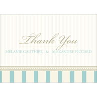 Vintage A - 1 Sided Thank You
