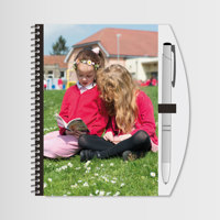 """Notebook & Pen 7""""x5"""" with Photo"""