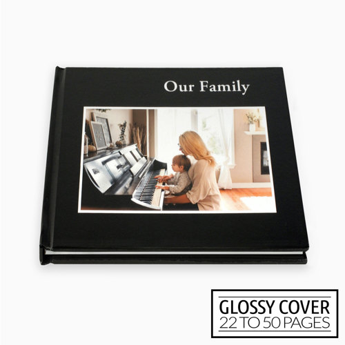 8x8 Classic Image Wrap Hard Cover / Glossy Cover (22-50 pages)