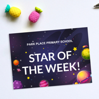 50 x Star of the Week Post Cards
