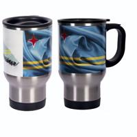 Aruba Flag Travel Mug