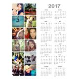 Magnet Calendar (17-03)
