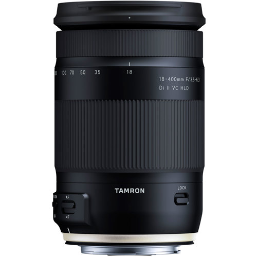 Tamron-18-400mm F3.5-6.3 Di II VC HLD Model B028 - Canon-Lenses - SLR & Compact System